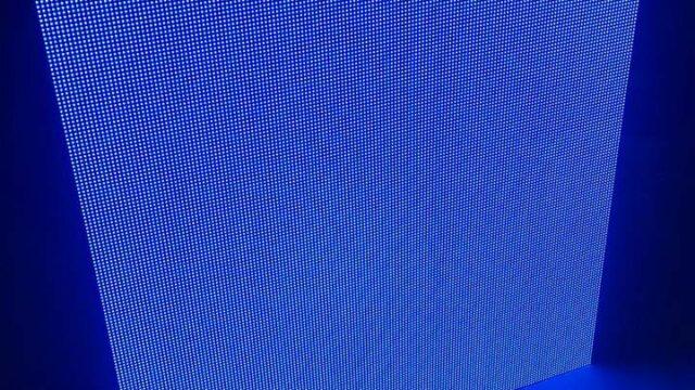 led-kabin-mavi